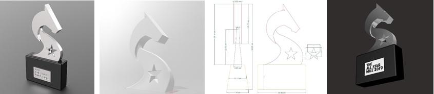 ASM Trophy Design